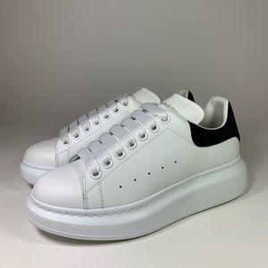 Alexander McQueen Oversized Sneaker White Leather